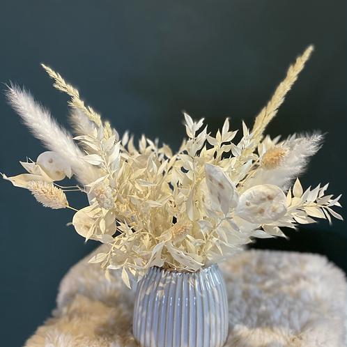 Mini dried flower arrangement