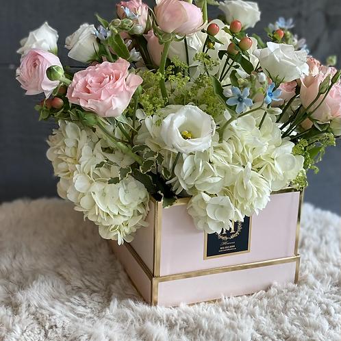 pastel floral box