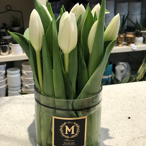 Spring Tulip Arrangement (10stems)