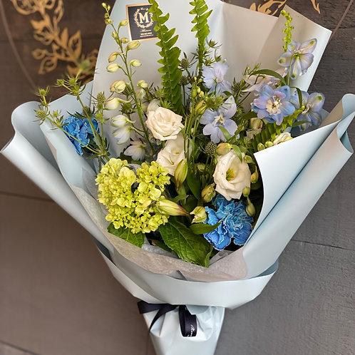 Fresh Blue Bouquet