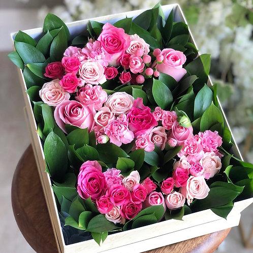 Initial flower box