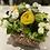Thumbnail: Yellow Spring Basket Arrangement