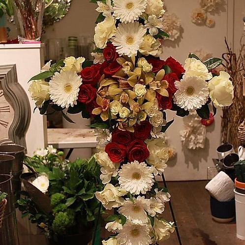 Funeral Cross flower
