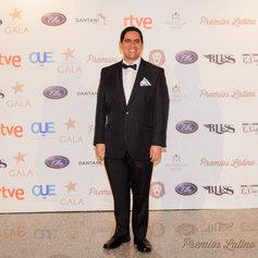 At the Premios Latino