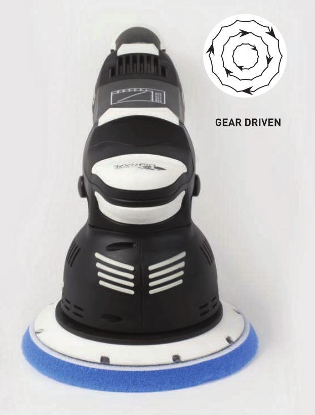 Gear driven