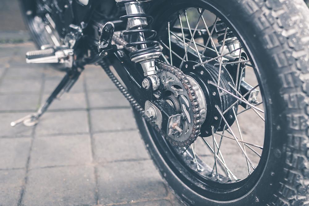 moottoripyörä vanne rengas