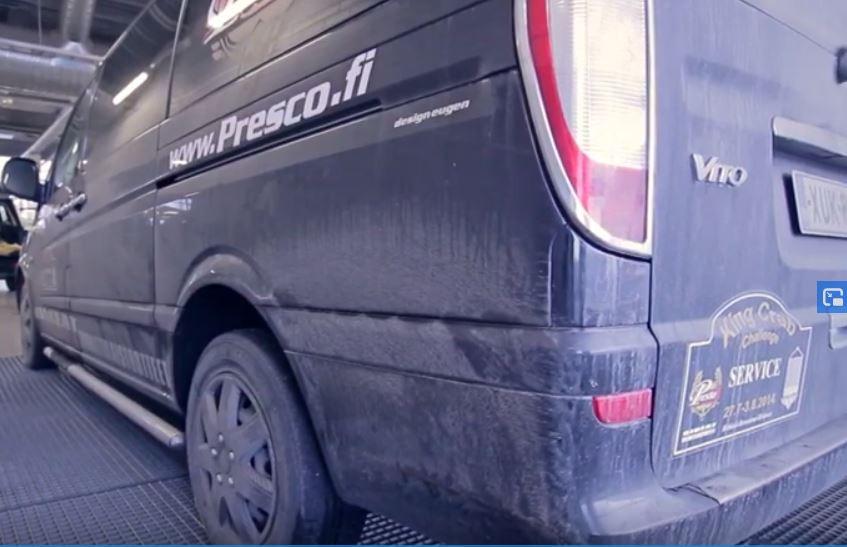 likainen auto auton pesu