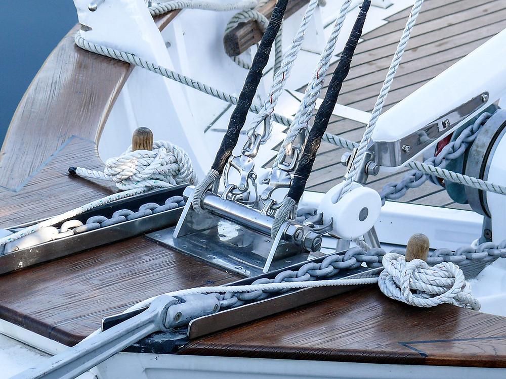 vene purjevene köysi metalli