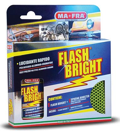 Puhdistussetti kromille, alumiinille ja metalliseoksille Flash Bright