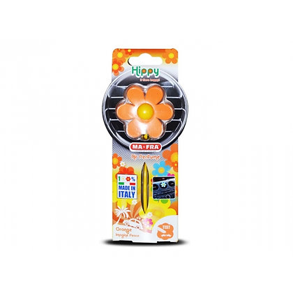 Hippy Orange Imagine Peace - Tuoksukukka