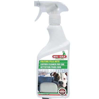 Auton nahkaverhoilujen puhdistaja