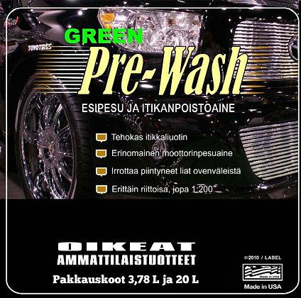 Pre-Wash Green Esipesu ja Itikanpoisto 1 gal