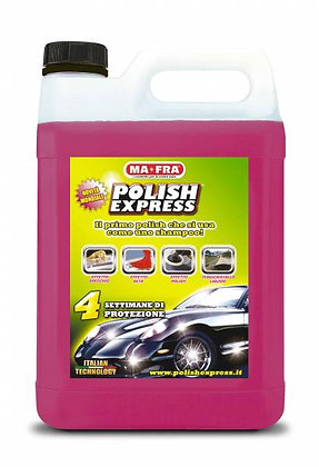 Polish Express 4,5L - Nanovaha, jossa shampoo