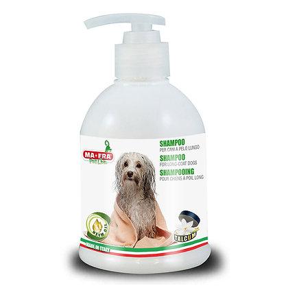 Shampoo pitkäkarvaisille koirille
