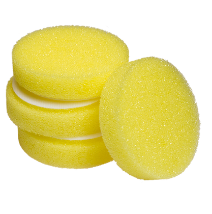 Cyclo Foam Yellow - Karkea hionta-laikka 2-pack