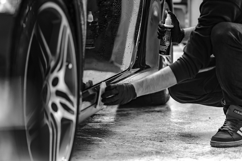 auton puhdistaminen