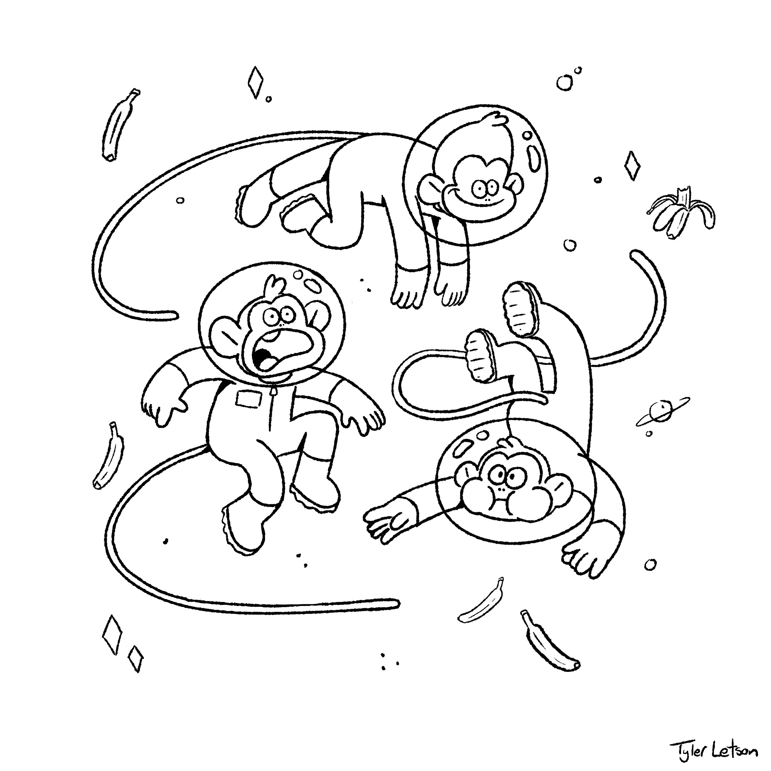 monkeysinspace