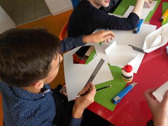 Учебный день в Технопарке. Детский технопарк АБСТРАКТ. Школа 1576. Успешный старт.