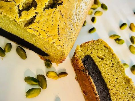 Cake choco-pistache