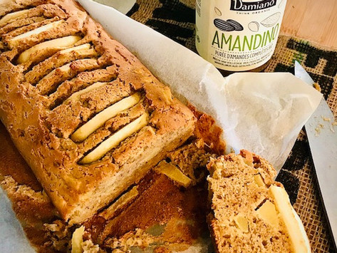 Cake healthy aux pommes