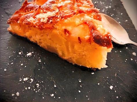 THE gâteau aux pommes simple & rapide