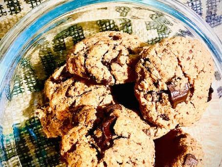 Cookies choco/purée d'amande (sans beurre)