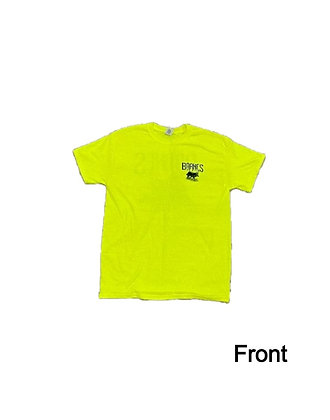 Safety Green -Barnes Hide and Fur T-Shirt