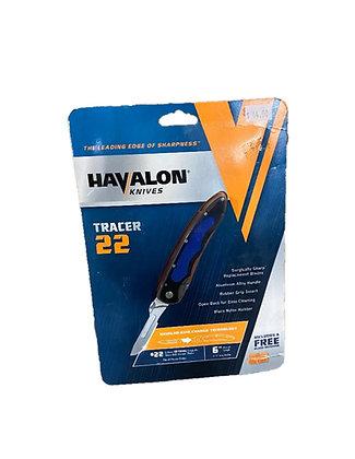 Havalon Skinning Knife-Piranta Tracer-22