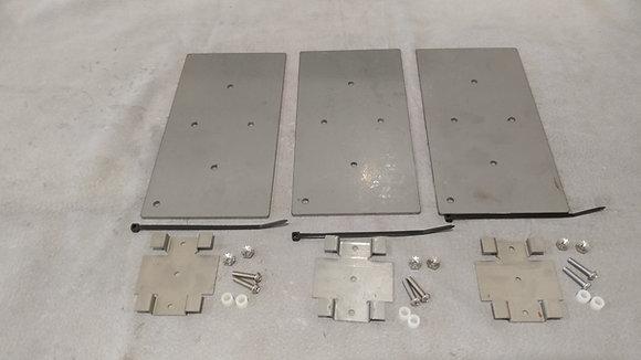 Economy Stabilizing Plates with Hardware