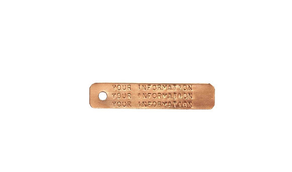 Copper Trap Tags-Special Order