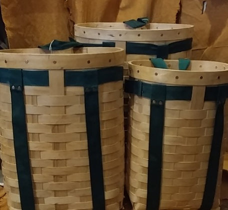 Chippewa Wooden Packbaskets