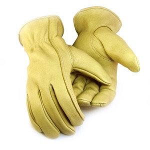 Deerskin Unlined-Creme Gloves-Men's