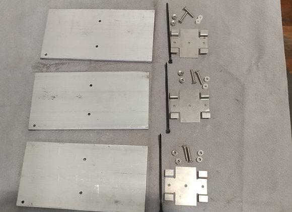 Deluxe Aluminum Stabilizer Plate Set