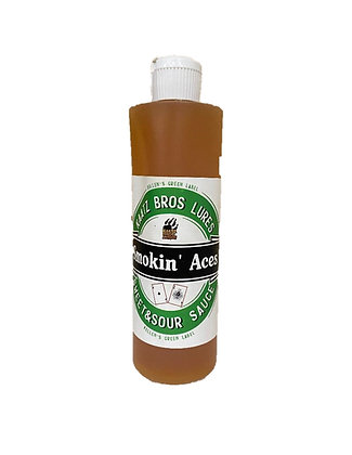 Kaatz Bros. Lures-Kellen's Green Label Smokin' Aces Sweet & Sour Coon Sauce
