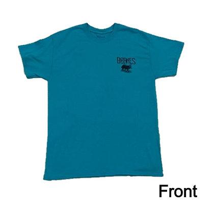 Teal Green-Barnes Hide and Fur T-Shirt
