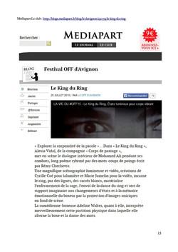 Blog Médiapart Vie du Off