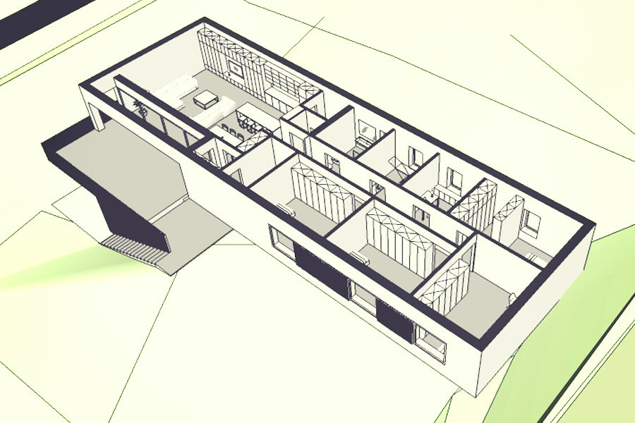 projekt indywidualny domu Gliwice