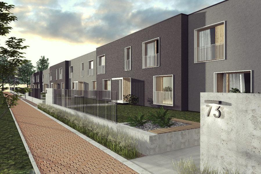 projekt zabudowy szeregowej Katowice