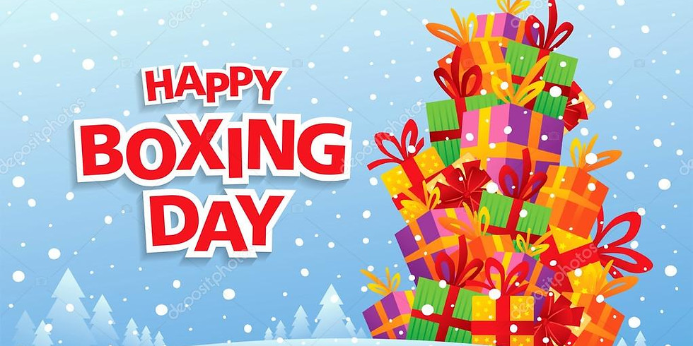 Boxing Day Celebration with Point Blank!