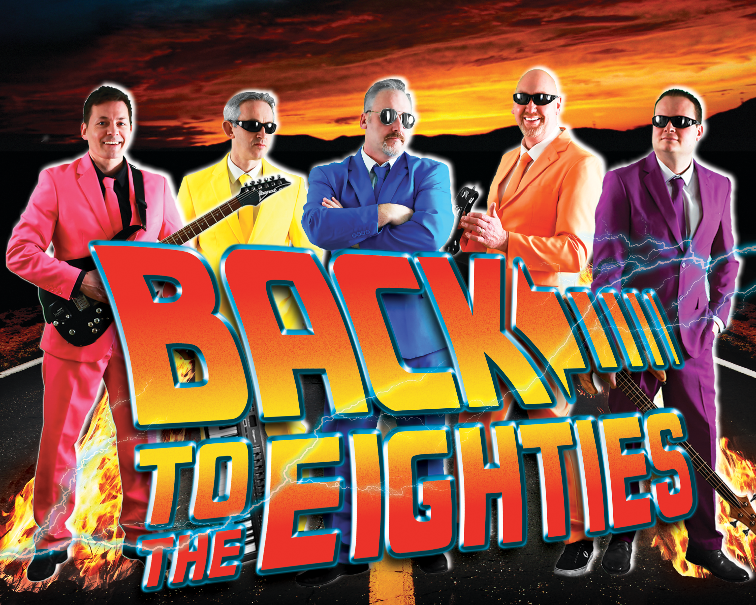 Back to the Eighties Logo