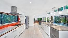 Large galley kitchen