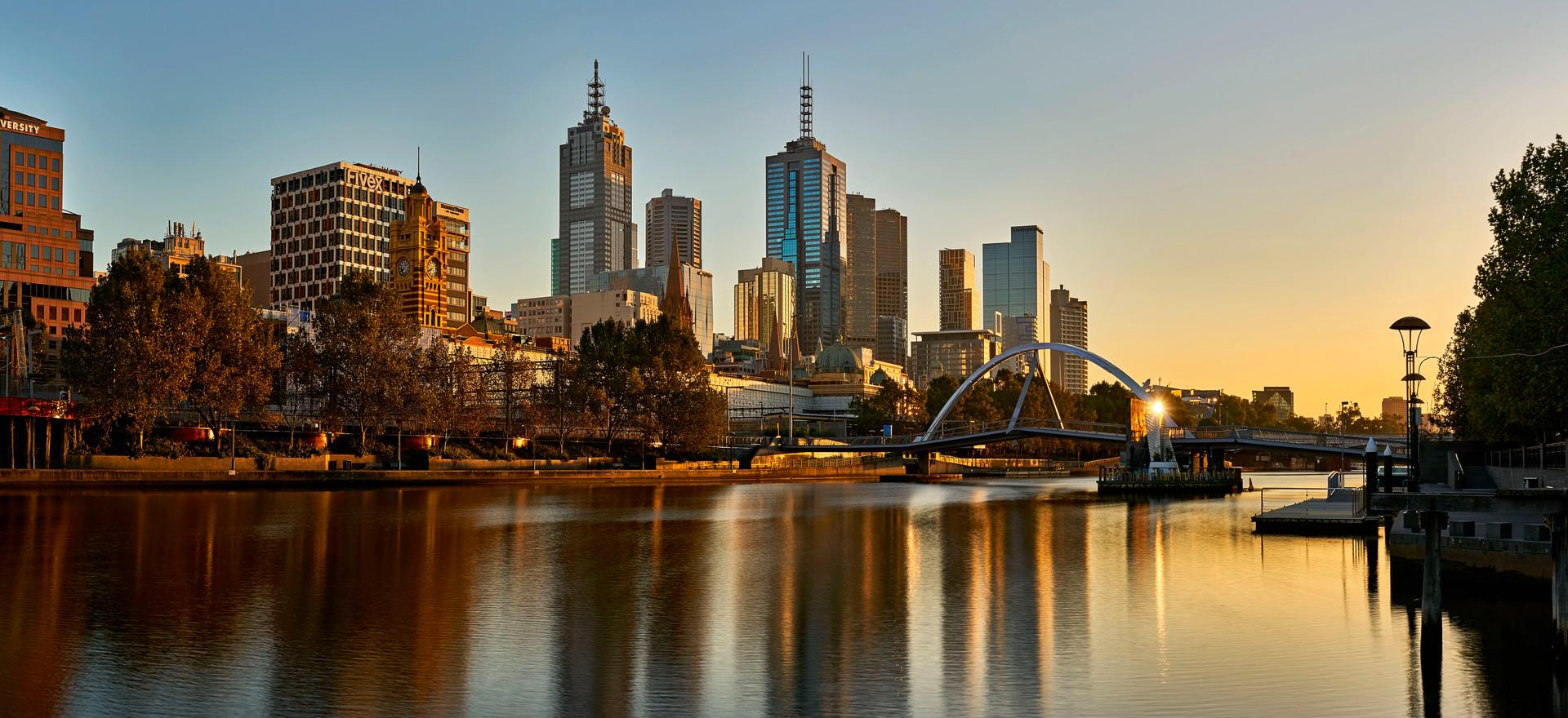 Melbourne City Sunrise