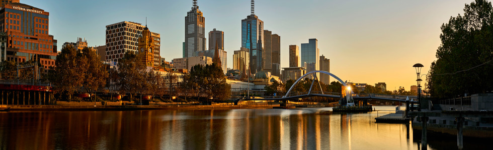 Melbourne City Sunrise