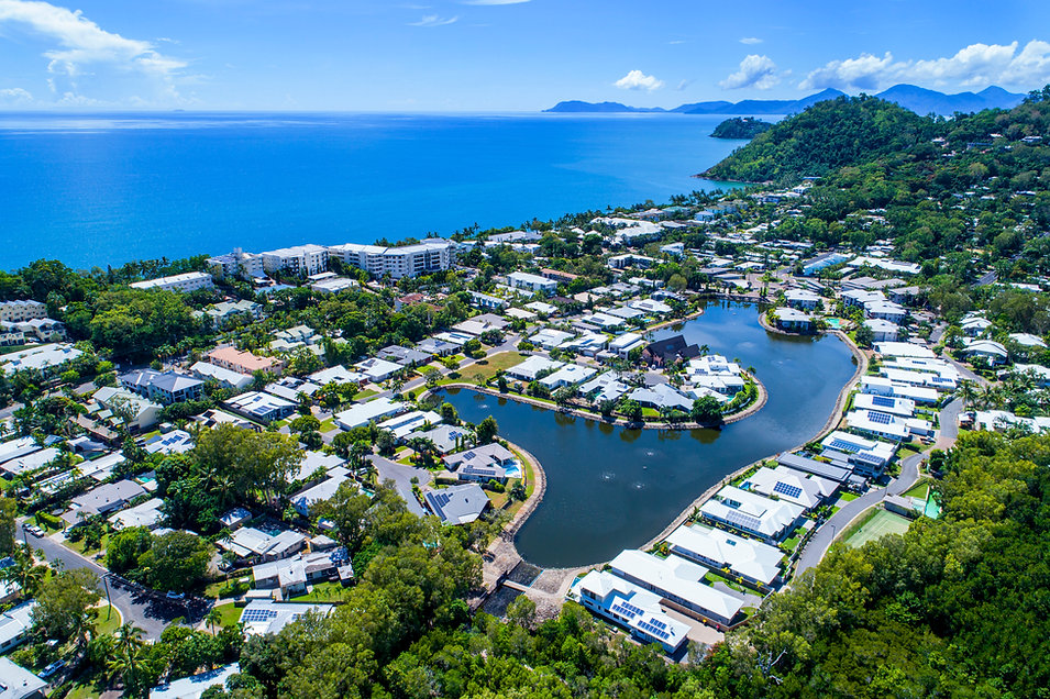 Aerial photography Cairns