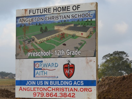 Exciting Things Are Happening at Angleton Christian School!