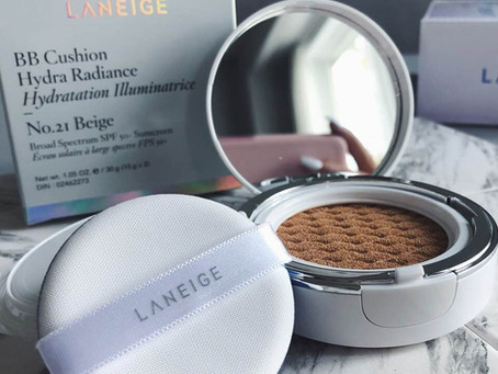 #LovingLANEIGE | BB Cushion Hydra Radiance | Review