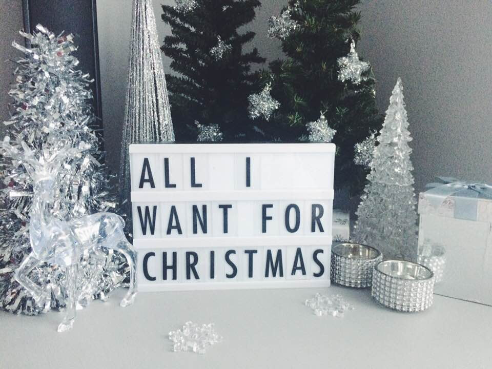 All I Want for Christmas Blog by Brooke Brianna