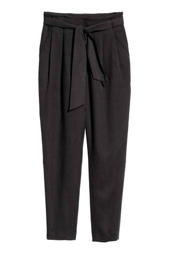 Tie-belt trousers | H&M