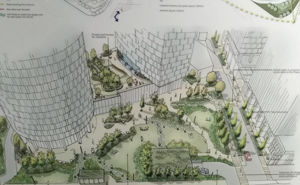 Construction Project Deansgate Castlefield Manchester CSPh2