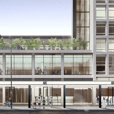 ABC-Quay-Street-elevation-Remodelled-office-urban-development-underfloor-airconditioning